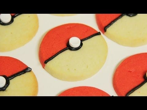 Today I made Pokeball Cookies from scratch! I really enjoy making nerdy themed goodies and decorating them. I'm not a pro, but I love baking as a hobby. Please let me know what kind of treat you would like me to make next!     Check out photos of my other Nerdy Nummie creations on facebook & Twitter.   Ro's Facebook: http://www.facebook.com/rosanna...