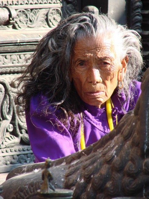 Kathmandu, Thamel, Kathmandu, silne kobiety, NEPAL