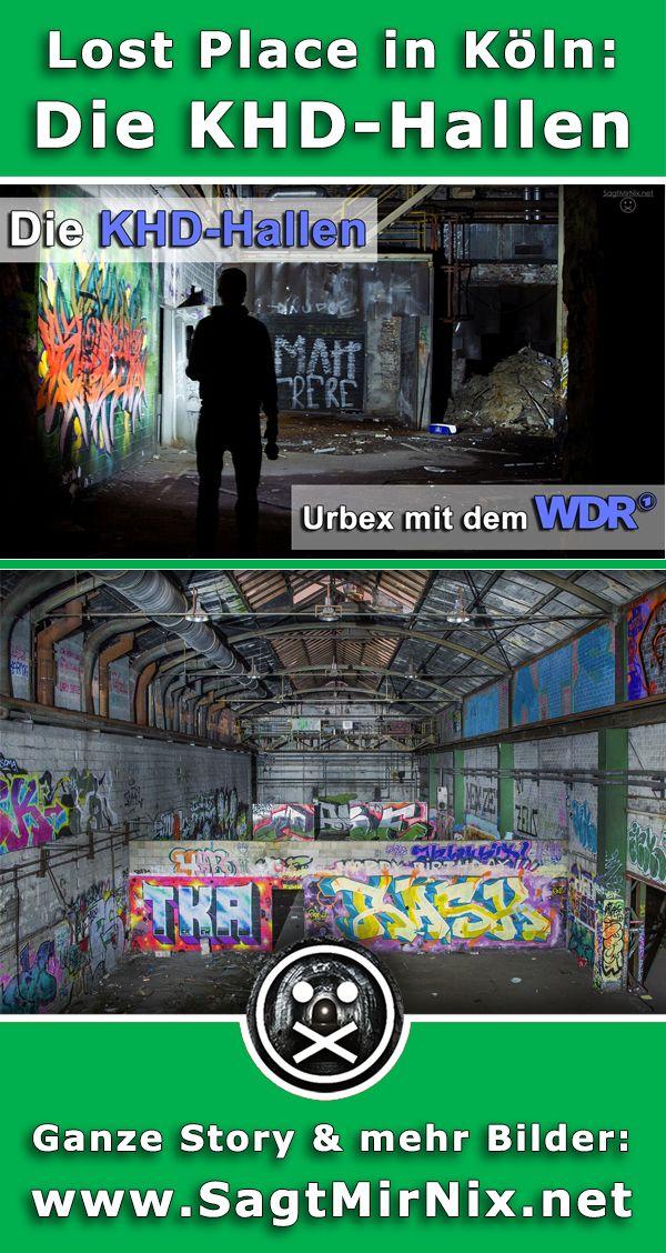 Ein Lost Place im Herzen von Köln: Die KHD-Hallen in Köln Deutz. An diesem verlassenen Ort mitten in NRW warteten riesige leerstehende Hallen darauf, erkundet zu werden - mitten in der Nacht! Ein Reporter vom WDR war ebenfalls mit dabei!