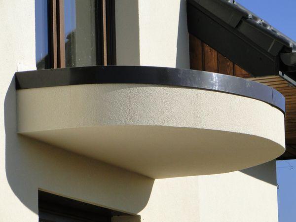 Profil krawędziowy do balkonów półokrągłych: Perfecta PK 95 flex