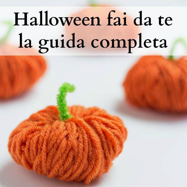 Idee per festeggiare Halloween con lavoretti per bambini, decorazioni e ricette facili e veloci con la zucca. Lavoretti di Halloween fai da te con materiale di riciclo.