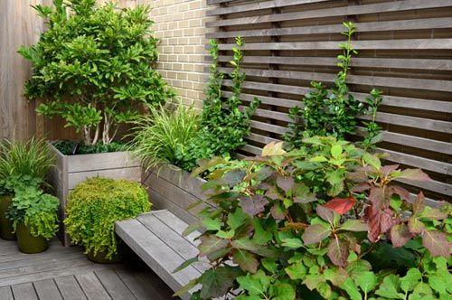 25 beste idee n over houten plantenbakken op pinterest tuin planters - Claustra ontwerp pour terras ...