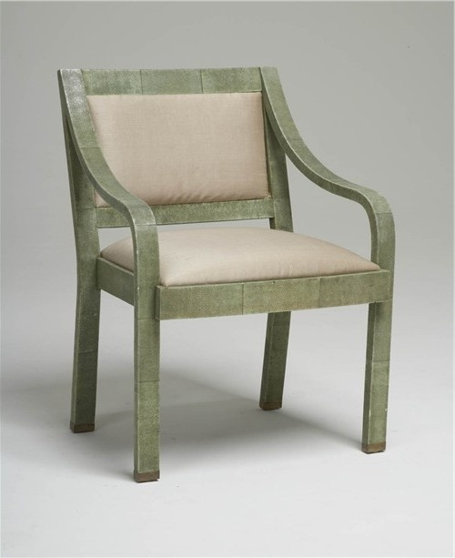 Shagreen Regency Chair Karl Springer
