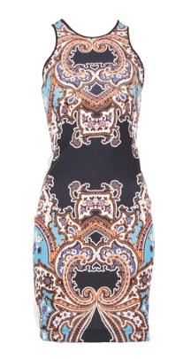 Paisley Print Neoprene Dress by Clover Canyon! http://www.oxygenboutique.com/p-1296-paisley-print-neoprene-dress.aspx