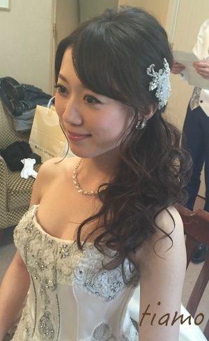 可愛い花嫁さま♡ドレスから色打掛へとチェンジの素敵ホテル婚 | 大人可愛いブライダルヘアメイク 『tiamo』 の結婚カタログ