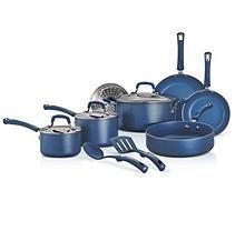 Tramontina 12-Piece Mediterranean Blue Non-stick Cookware Set