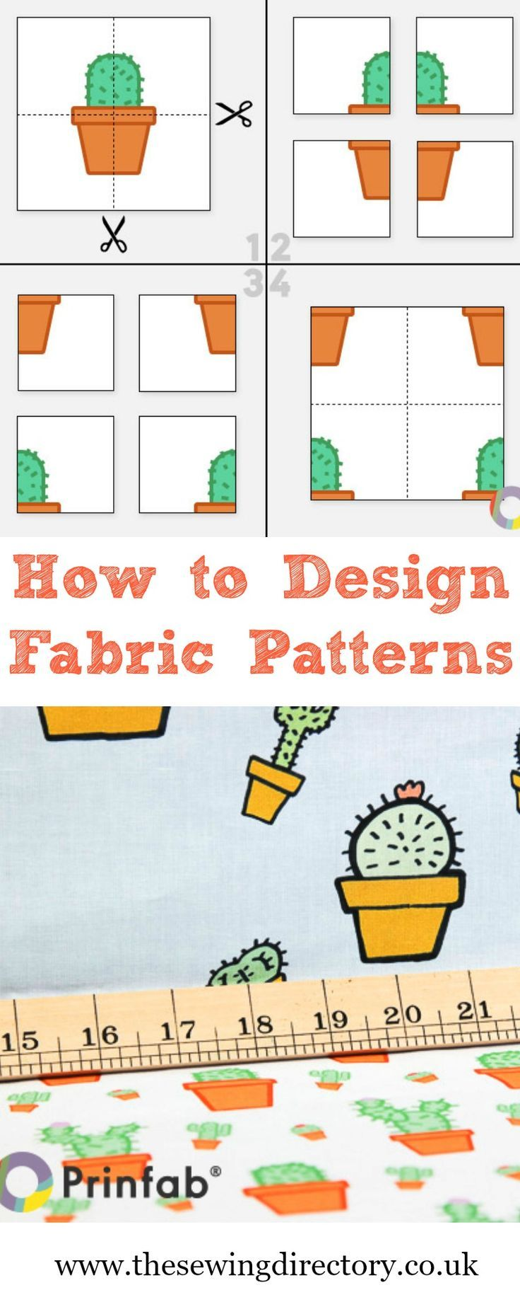 Tips on designing for fabric printing from Prinfab.