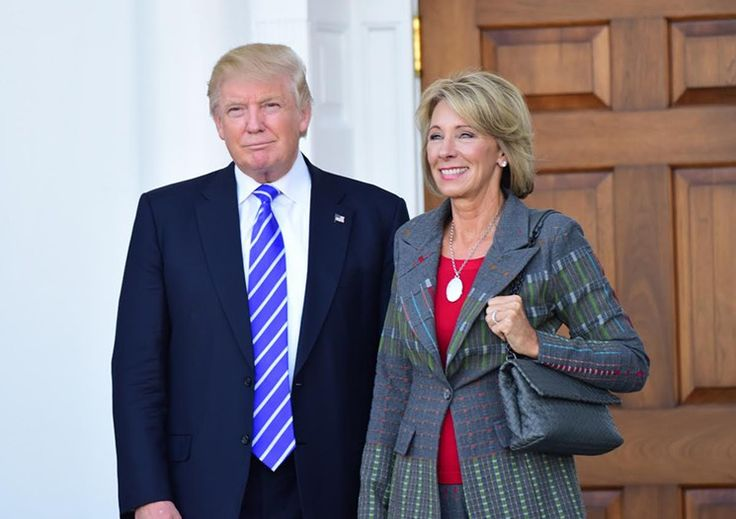 Hundreds of Miami Teachers to Protest Today Against Betsy DeVos, Trump's Education Secretary Pick