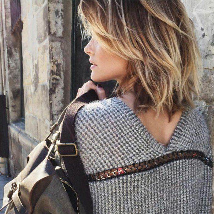 Magnifique coupe de cheveux court femme