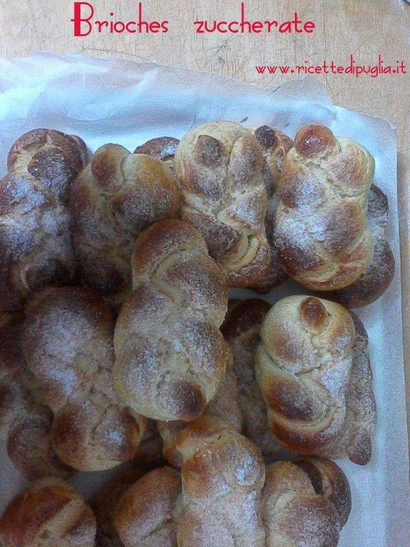 Ottime per la prima colazione e squisite se inzuppate nel latte. http://www.ricettedipuglia.it/la-ricetta-delle-brioches-zuccherate/