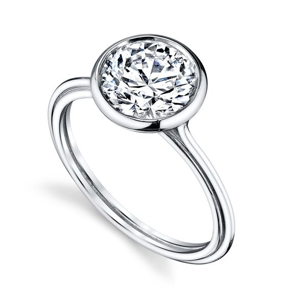 Engagement Envy: Rings that Rock Our World - Modern Solitaire | InStyle.com