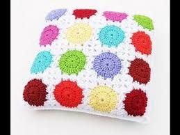 Image result for knitted or crocheted cushions free patterns