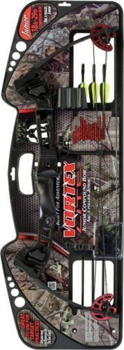 cool 2449 Barnett Vortex Lite Youth Compound Bow Package deal 18 - 29# Draw Weight Proper