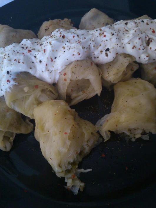 482194_610939522254668_1278362296_n.jpg (530×707) stuffed cabbage with yogurt