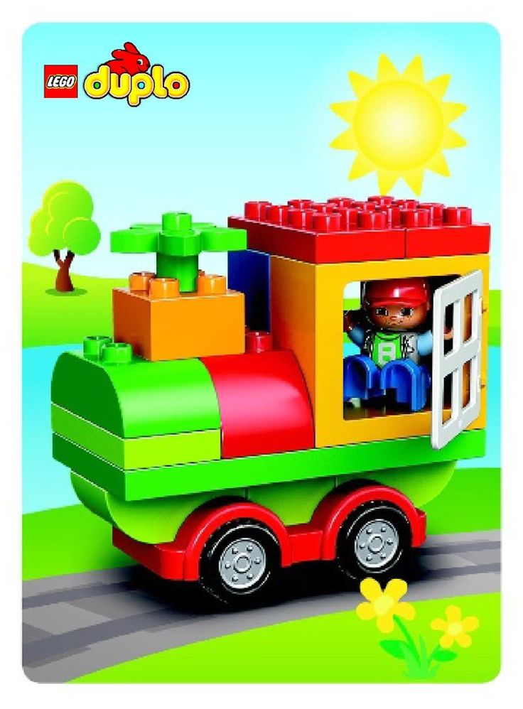 Duplo - LEGO DUPLO All-in-One-Box-of-Fun [Lego 10572]