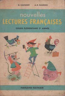 Castanet, Naudon, Nouvelles lectures françaises CE2 (1962)
