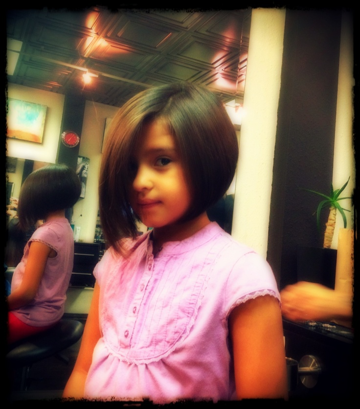 Kid's haircut - but not so short in the back