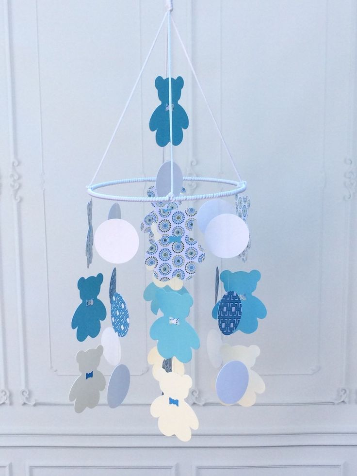 Ideal Teddy Bear Baby Mobile Hanging Mobile Boy Baby Mobile Traditional Mobile Baby