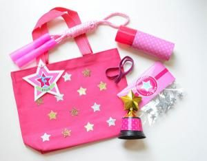 Gymnastics Party Favor Bag