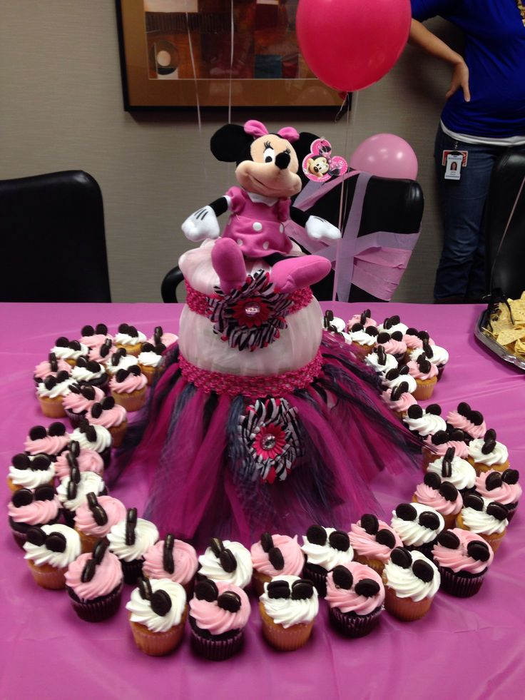 127 Best Images About Baby Abrielle Baby Minnie Shower On