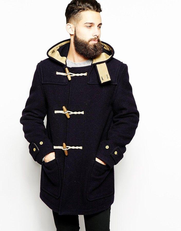 Mens Duffle Coat With Hood