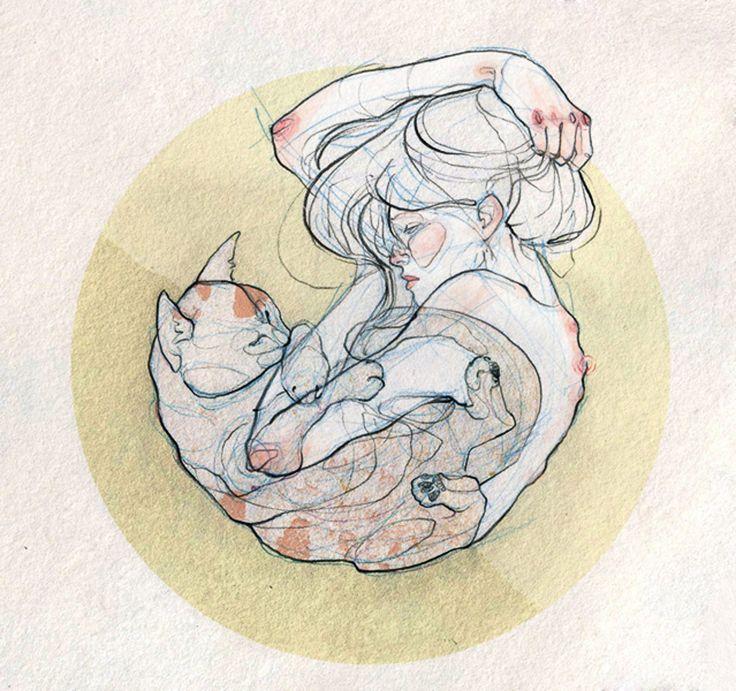 Ilustrações de Adara Sánchez Anguiano