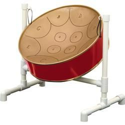 #Diatonic #steel #drum Steel drums were originally fashioned from discarded 55-gallon oil drums by the pan men of Trinidad in the mid 1940s. Accurately tuned to A 440 with a 1-1/2 octave range, these mini steel drums deliver that great sound popular throughout the Caribbean.
