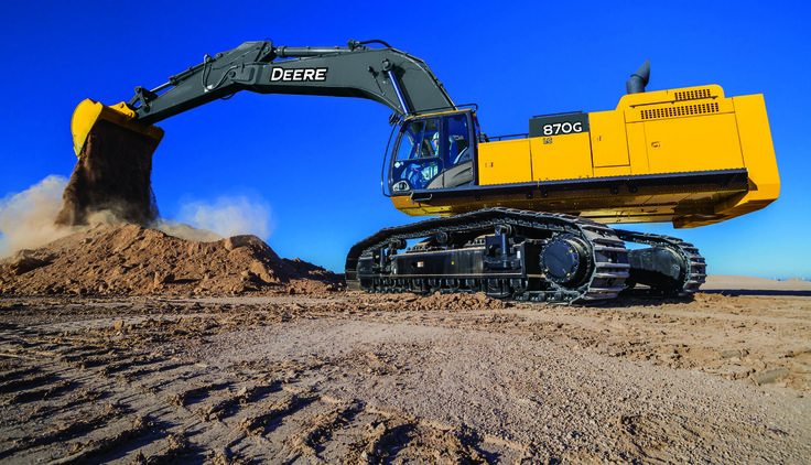 John Deere Upgrades Largest Production-Class Excavator in G-Series Lineup | Rock & Dirt Blog Construction Equipment News & Information
