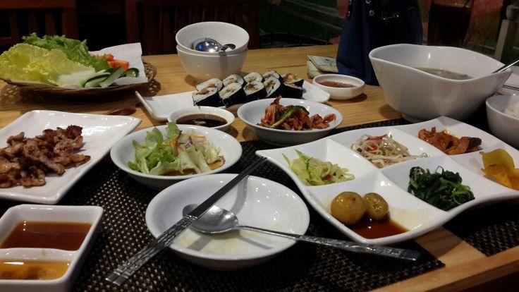 Samwon House korean menu