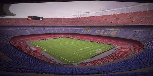W grze FIFA 16 Camp Nou wygląda jak w rzeczywistości • Niesamowite zdjęcie stadionu FC Barcelony z gry komputerowej • Zobacz więcej >> #fifa #campnou #barca #fcbarcelona #barcelona #football #soccer #sports #pilkanozna