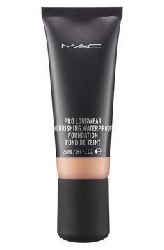 MAC 'Pro Longwear' Nourishing Waterproof Foundation ($33.00 // Nordstrom). Definitely my favorite foundation! With this product, a little goes a long, long way. Excellent coverage, smooth application, can be manipulated to have a matte or dewey finish. As advertised, this product is very much water/sweat proof and is resistant to smearing, though it can be removed quite well with Bobbi Brown cleansing oil. My only complaint is that this foundation is a little heavy and can be a bit…