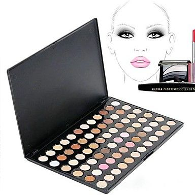 72 warme kleur shadow macht oog neutraal naakt oogschaduw make-up palet Set 3904 – EUR € 9.45