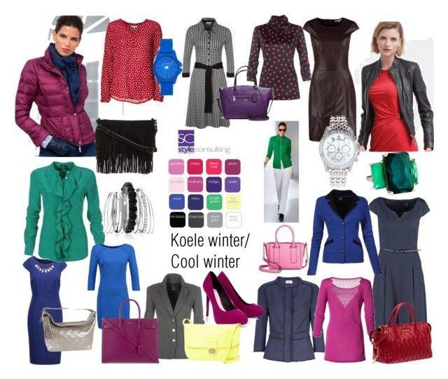 """Koele wintertype/ Cool winter color ."