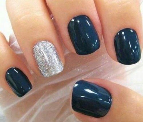 azul y glitters