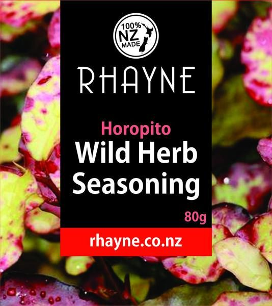 Rhayne - New Zealands Horopito Wild Herb Seasoning