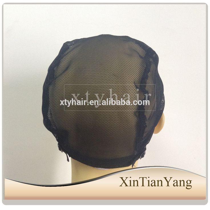 wig caps for making cap stretch lace weaving cap adjustable straps, U-part wig cap net for weaving, different size