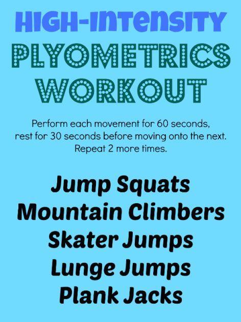 High-Intensity Plyometrics Workout