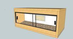 How to build your own wooden vivarium - Reptile Forums