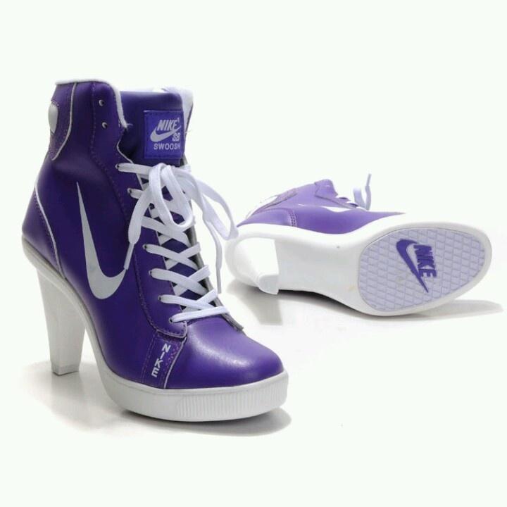Purple fergie. Nike High HeelsWhite NikesNike Shoes OutletStreet StylesSports  ShoesShopRunning ShoesRainbowFashion Trends
