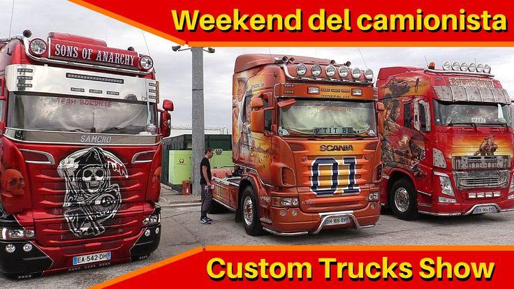 Weekend del camionista - Misano 2016 - Custom Trucks Show!