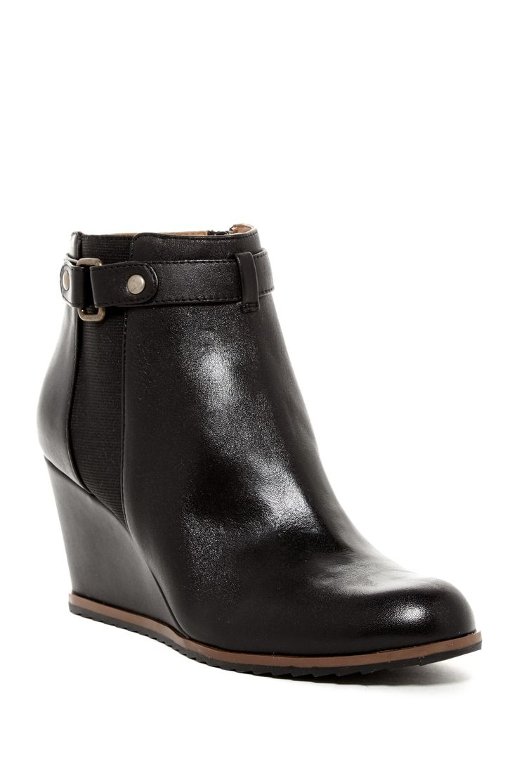 Keely Wedge Bootie - Multiple Widths Available by SUSINA on @nordstrom_rack