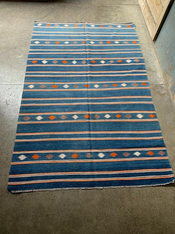 6 x 8.6 Foot Vintage Contemporary Style Moroccan Flat weave Fine Quality Washable natural Dye Moroccan Tribal Kilim Rug,DISCOUNTED PRICE