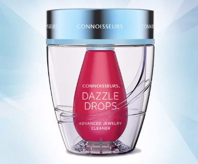 Connoisseurs Dazzle Drops- Advanced Jewelry Cleaner