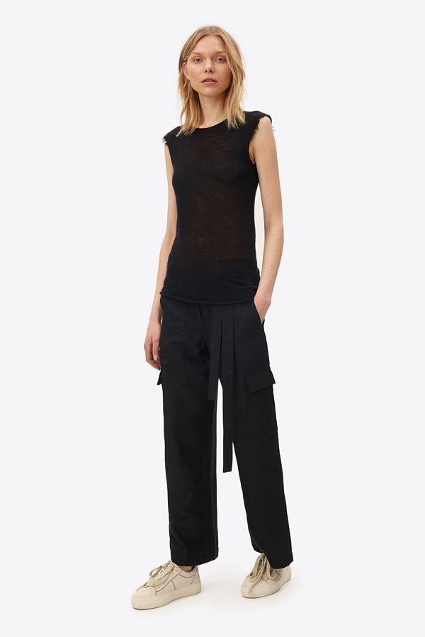 Helmut Lang Silk Suiting Dupponi Cargo Pant | Helmutlang.com