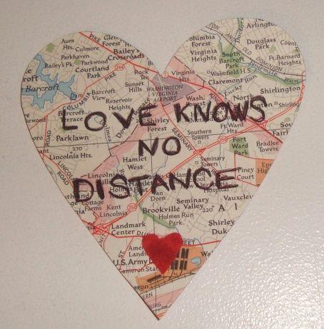 Love Knows No Distance Magnet