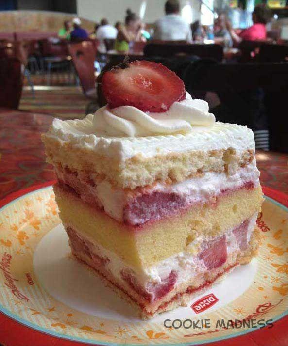 Strawberry Shortcake Recipe Like the Kind from Disney's Sunshine Seasons Version One