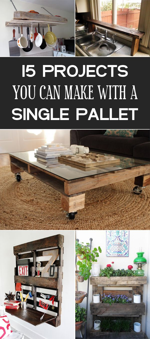 15 Diy Projects You Can Make With A Single Pallet Best
