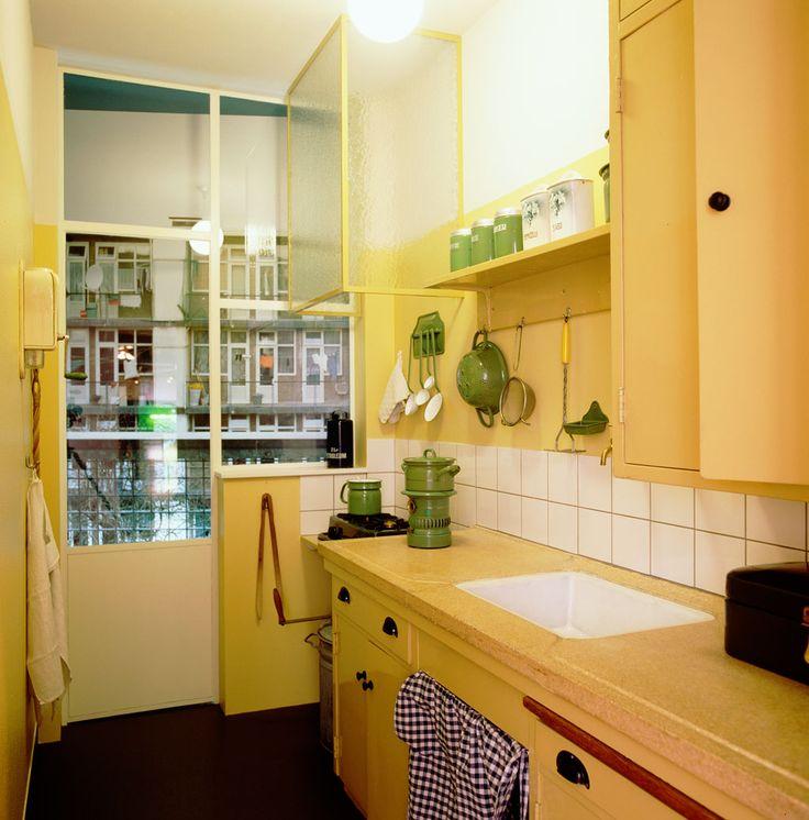 Keuken uit de wijk Landlust , 1932 - 1937
