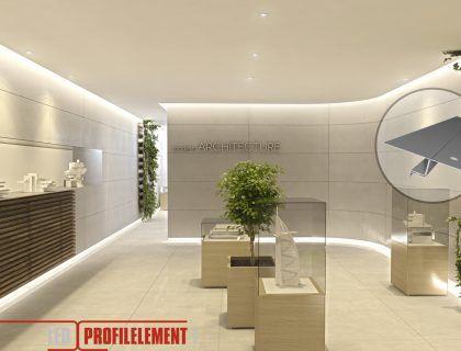 Lichtdesign mit LED Beleuchtungslösungen für Decke, Wände, Böden