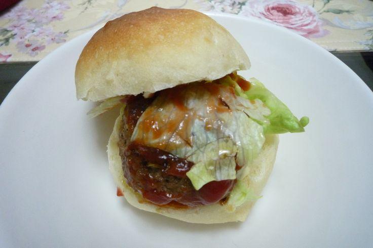 手づくりハンバーガー